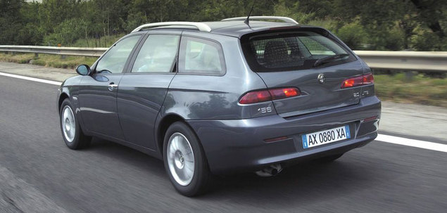 alfa romeo 156 fl 1 9 jtd 115 km 2003 sportwagon skrzynia r czna nap d przedni. Black Bedroom Furniture Sets. Home Design Ideas