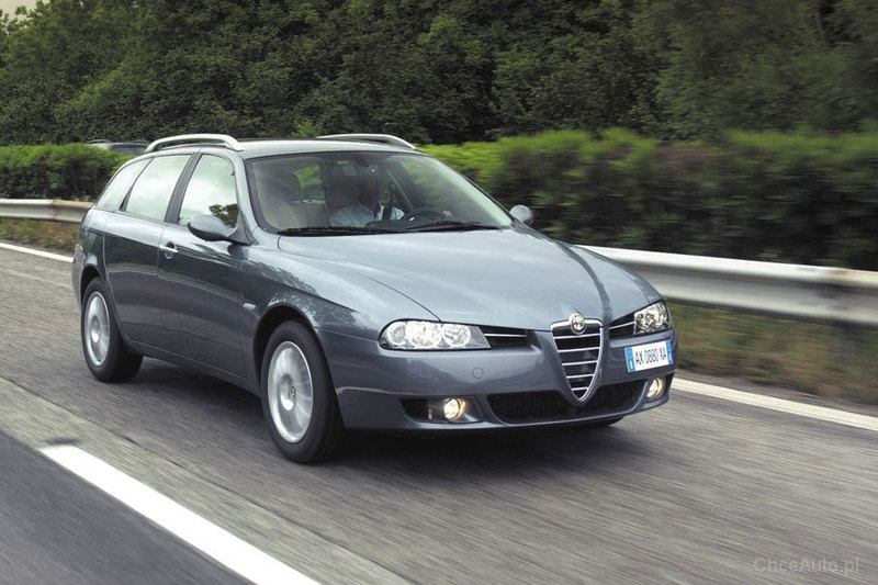 alfa romeo 156 fl 2 5 v6 24v 190 km 2004 sportwagon. Black Bedroom Furniture Sets. Home Design Ideas