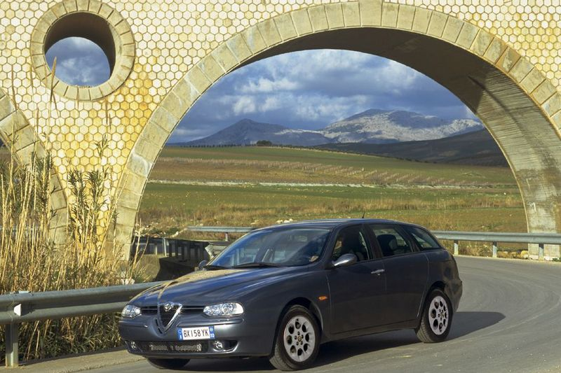 alfa romeo 156 1 9 jtd 115 km 2002 sportwagon skrzynia r czna nap d przedni zdj cie 9. Black Bedroom Furniture Sets. Home Design Ideas