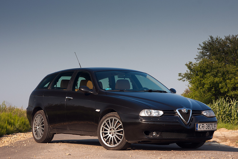 alfa romeo 156 fl 1 9 jtd 115 km 2003 sportwagon skrzynia r czna nap d przedni zdj cie 6. Black Bedroom Furniture Sets. Home Design Ideas