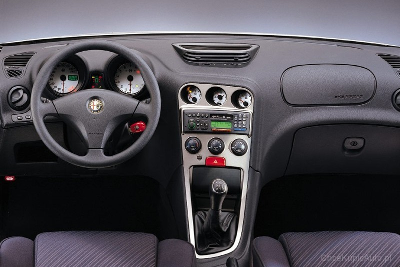 alfa romeo 156 1 6 ts 120 km 1997 sedan skrzynia r czna nap d przedni zdj cie 2. Black Bedroom Furniture Sets. Home Design Ideas