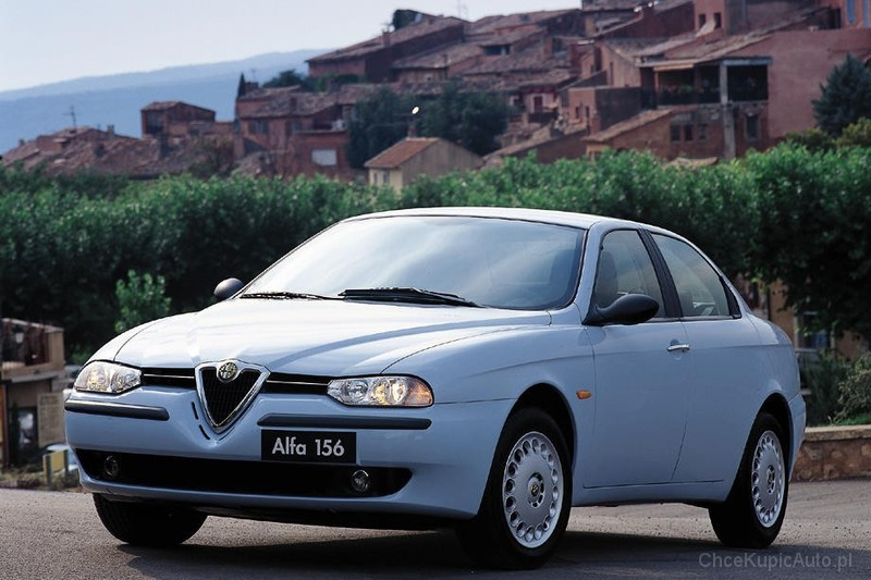 alfa romeo 156 1 8 ts 144 km 1998 sedan skrzynia r czna. Black Bedroom Furniture Sets. Home Design Ideas