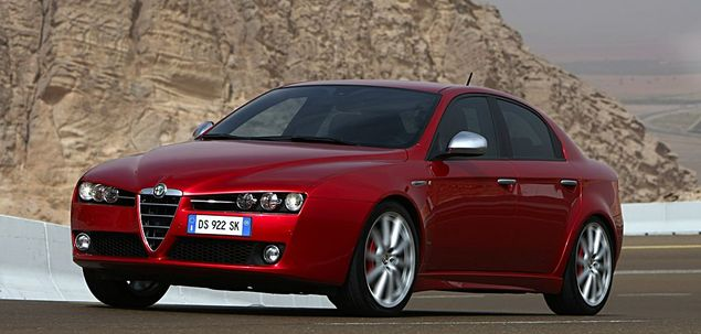 alfa romeo 159 q4 3 2 v6 jts 260 km 2007 sedan skrzynia automat nap d 4x4. Black Bedroom Furniture Sets. Home Design Ideas
