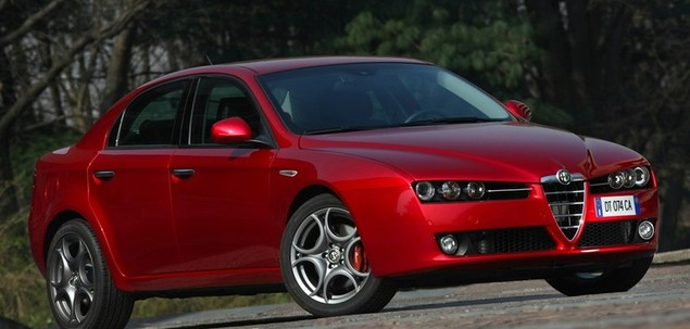 alfa romeo 159 q4 3 2 v6 jts 260 km 2005 sedan skrzynia r czna nap d 4x4. Black Bedroom Furniture Sets. Home Design Ideas