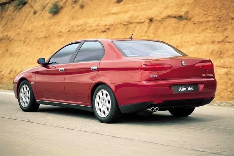 Alfa Romeo 166 2 5 V6 24v 190 Km 1999 Sedan Skrzynia Ręczna Napęd Przedni Zdjęcie 5