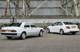 Mercedes 190 i Mercedes klasy C