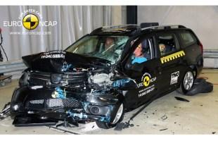 Dacia Logan MCV uzyskała tylko trzy gwiazdki