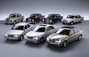 13 mln Mercedesów klasy E