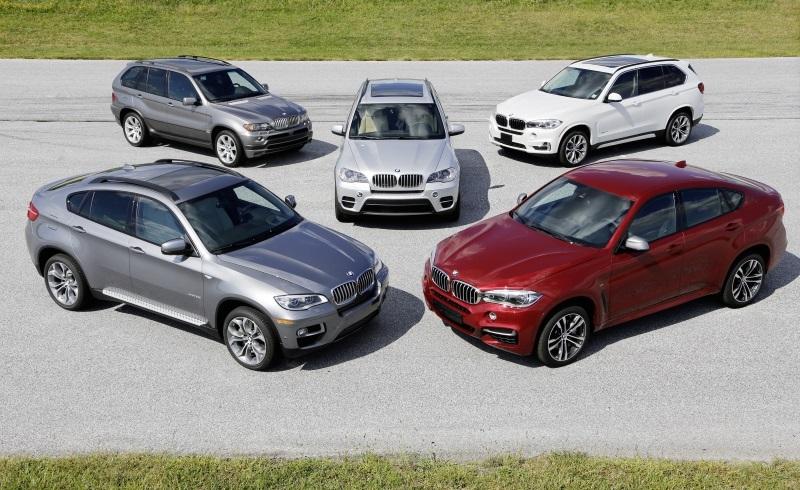 15 lat BMW serii X