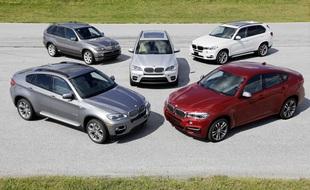 Gama modeli BMW X