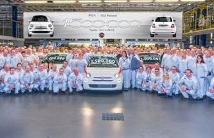 1,5 mln Fiatów 500 z Tychów