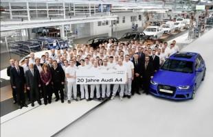 20 lat Audi A4
