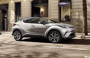 Toyota C-HR. Ceny