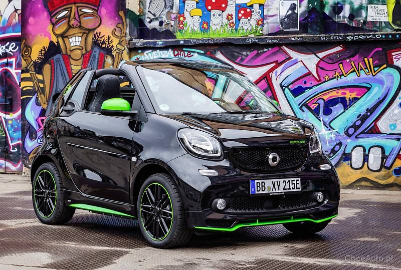 Smart Electric Drive Fortwo i Forfour