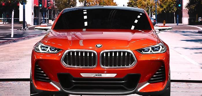 Takie będzie BMW X2