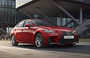 Lexus IS po liftingu