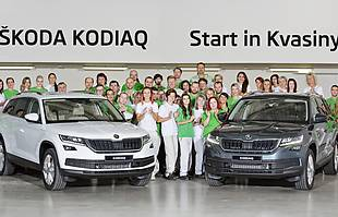 Skoda Kodiaq już w produkcji
