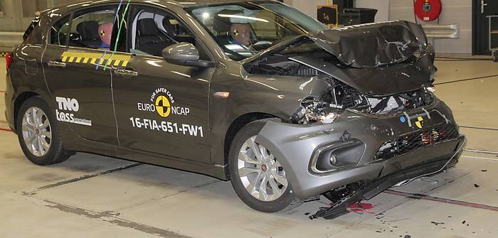 Czy Fiat Tipo jest bezpieczny? Wyniki NCAP