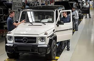 Rekordowa produkcja Mercedesa klasy G