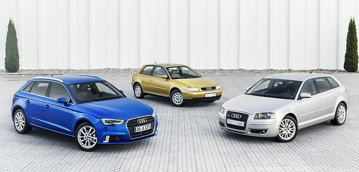 Audi A3 ma już 20 lat