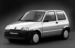 Fiat Cinquecento ma 25 lat!