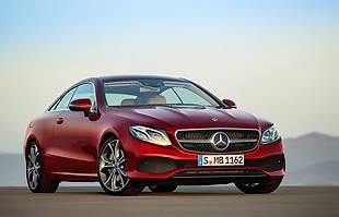 Mercedes E Coupe oficjalnie