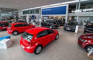 Wyprzedaż Volkswagena