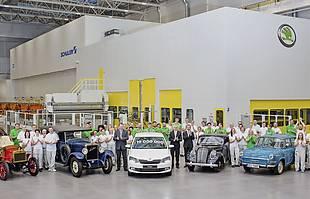 19 mln aut z Mlada Boleslav