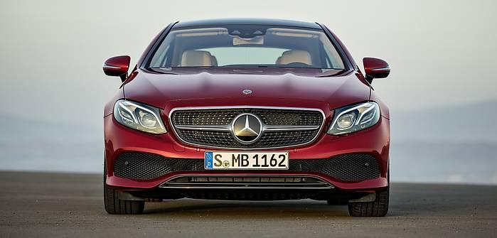 Mercedes E Coupe. Polskie ceny