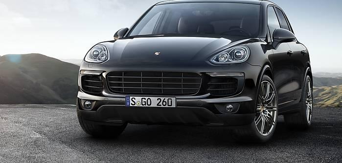 Porsche Cayenne S Platinum Edition