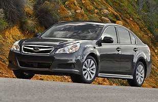 Używane: Subaru Legacy V i Outback IV