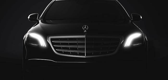 Mercedes klasy S po liftingu