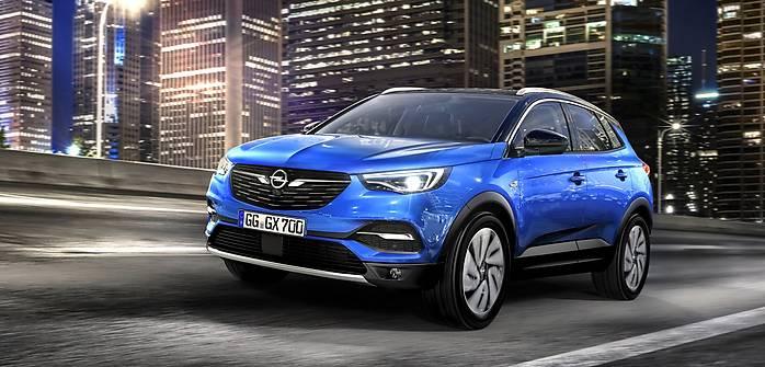 Opel Grandland X oficjalnie