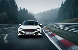 Honda Civic Type R z rekordem Nurburgringu