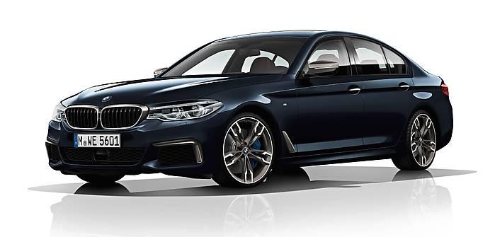 BMW M550d xDrive. Diesel i 4 turbiny!