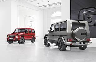 Mercedes klasy G w dwóch nowych wersjach