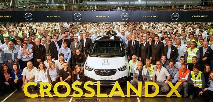 Opel Crossland X już w produkcji