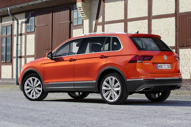 Volkswagen Tiguan w tańszej wersji