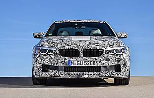 Nowe BMW M5. Z napędem 4x4!