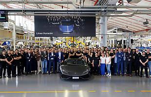 8 tys. Lamborghini Huracan