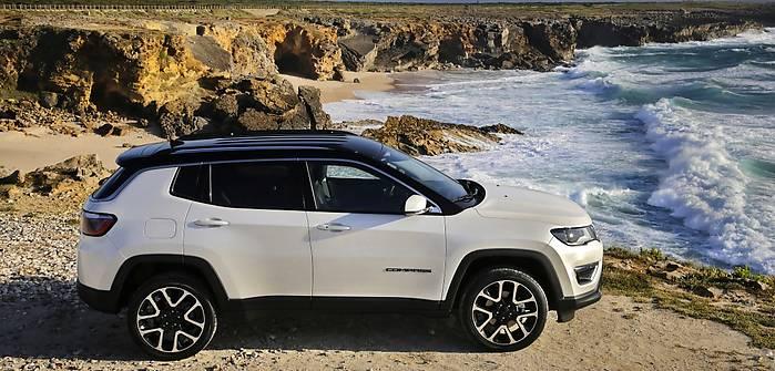 Jeep Compass w Portugalii