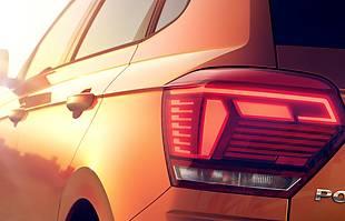 Volkswagen Polo VI nadjeżdża