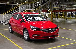 Opel Astra nr 250 tys.