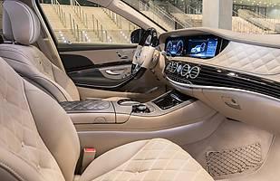 Wnętrze Mercedesa S-classe Maybach