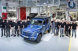 300 tys. egzemplarzy Mercedesa klasy G