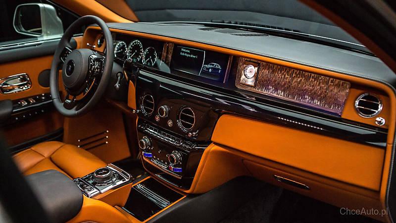 Rolls-Royce Phantom. Najcichszy samochód na świecie.