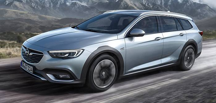 Opel Insignia Country Tourer - ceny!
