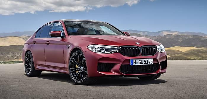 BMW M5 po raz pierwszy z napędem 4x4!