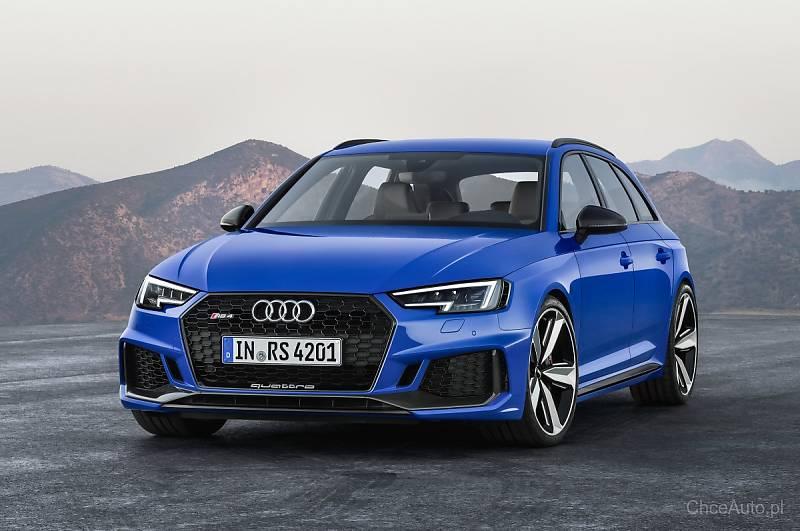 Audi RS4 Avant o mocy 450 KM