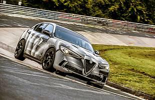 Alfa Romeo Stelvio Quadrifoglio z rekordem Nurburgringu